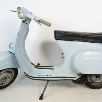 Vespa 50N Originallack azzuro chiaro