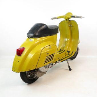 Vespa 50R Originallack giallo cromo