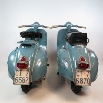 Vespa 150 VBB2T Catania twins Olack