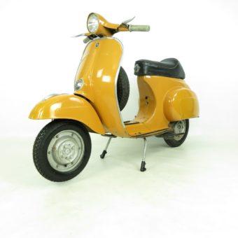 Vespa 50R Originallack giallo positano